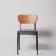 silla de estilo industrial modelo fresno