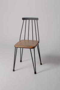 silla tribeca de estilo industrial