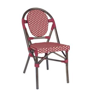 terraza restaurante con sillas tipo bristot