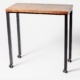 mesa-madera-y-metal-con-ruedas-para-hostelería