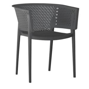 silla-diseño-plástico-antracita-modelo-Silves