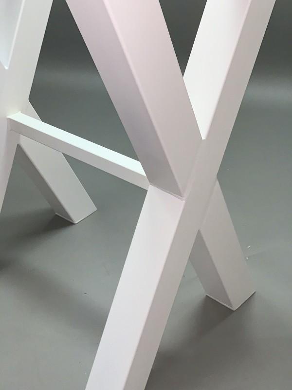 estructura acero mesa alta
