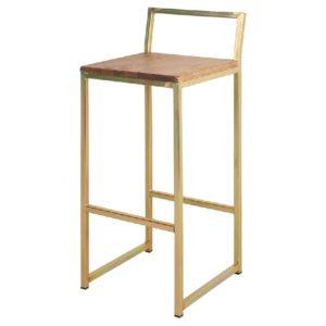 taburete-oro-asiento-madera