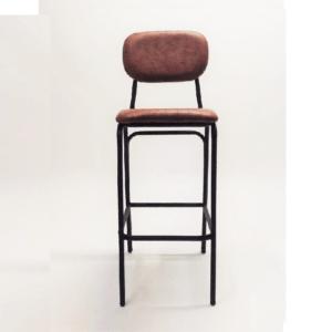 taburete-tapizado-vintage-marrón